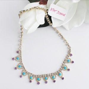 SALE! NWT BETSEY JOHNSON GRANNY CHIC NECKLACE